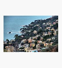 liguria coast Photographic Print