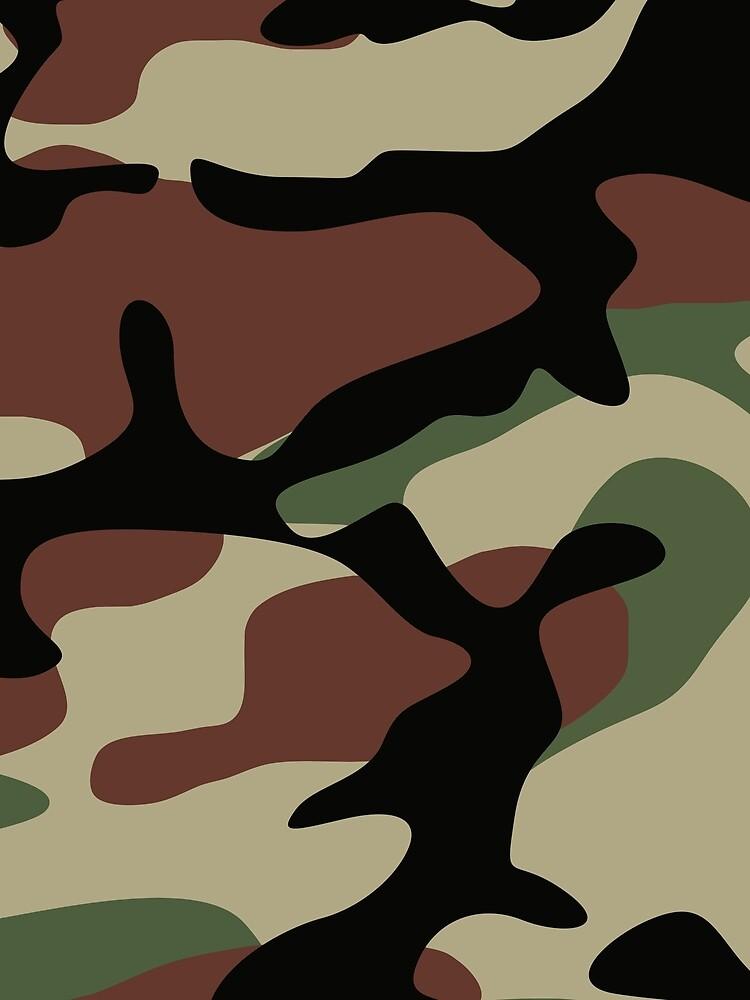 Military Camouflage Pattern by RaymundoSouza