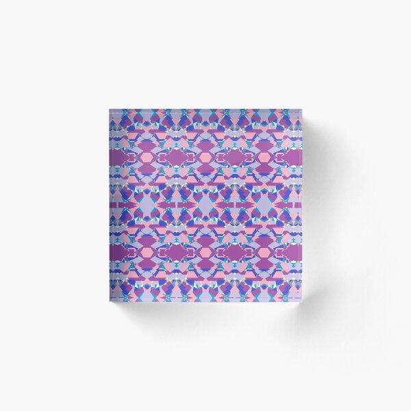 Abstract Dashung Acrylic Block