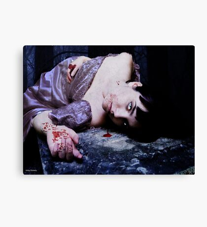the last vampire Canvas Print