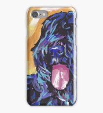 Bouvier Des Flandres Bright colorful pop dog art iPhone Case/Skin