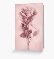 Tarjeta de felicitación Una rosa rara