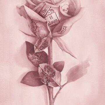 Eine seltene Rose von jamesormiston