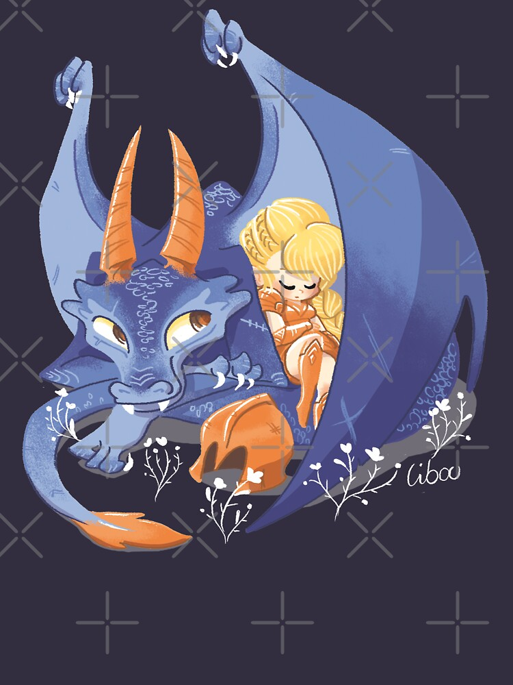 «Dragon violet mignon» par Libou