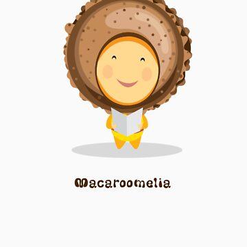Macaroomelia (Chocolate) from Dessertelia Choir by MissKoo