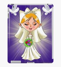 Wedding Bride and Doves iPad Case/Skin