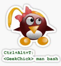 Geek Chick Sticker