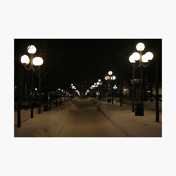 A lot of lamps (Stockholm, Sweden) Photographic Print