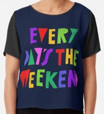 Weekend Every Day Chiffon Top