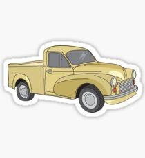 Morris Minor Ute - Mid 60s Sticker