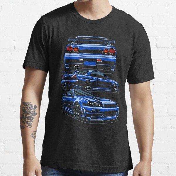 Skyline R34 GTR T-shirt essentiel