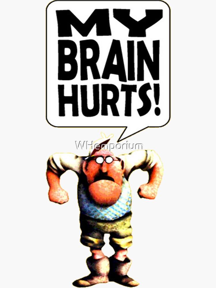 Mr Gumby - My Brain Hurts by WHemporium