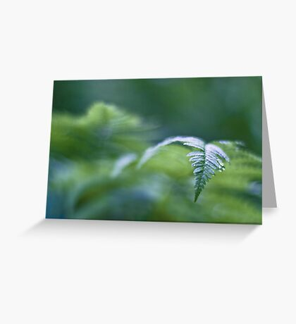 The green tide rolling in Greeting Card