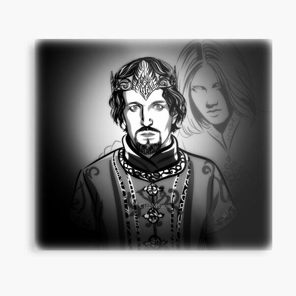 Ar Pharazon and Annatar Metal Print