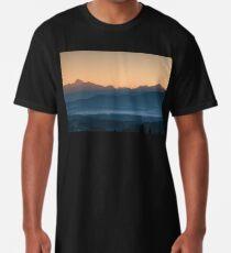 Hazy Winter Sunrise Long T-Shirt