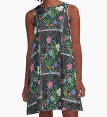 Garden of bits and pieces. A-Line Dress