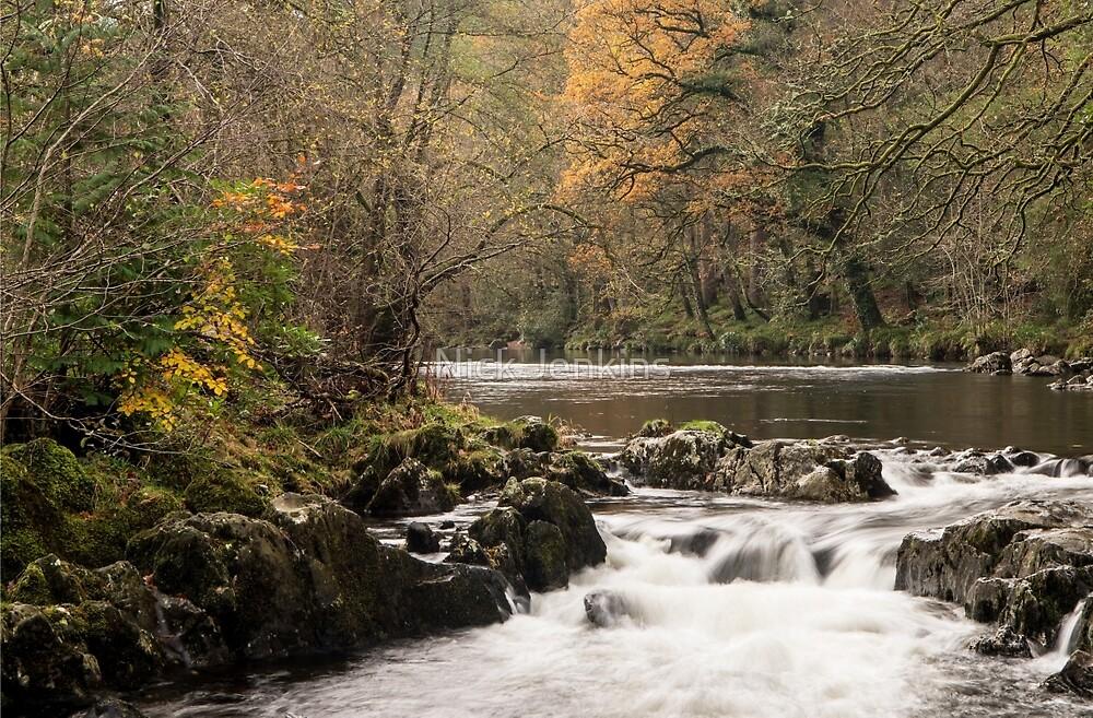 River Llugwy at Betws y Coed by Nick Jenkins