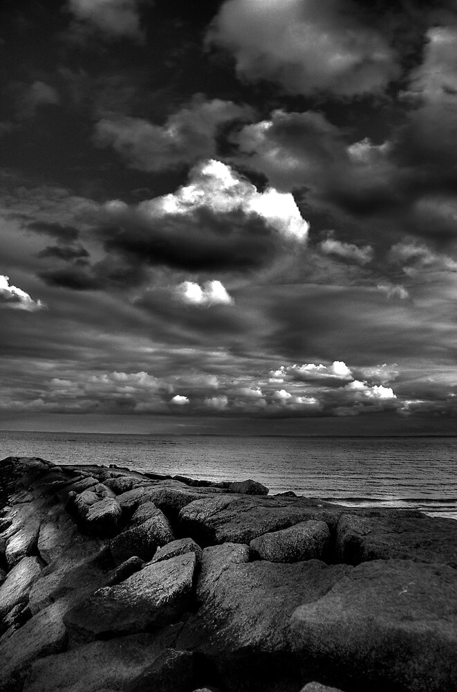 JETTY - LONG ISLAND SOUND by Tim Mannle
