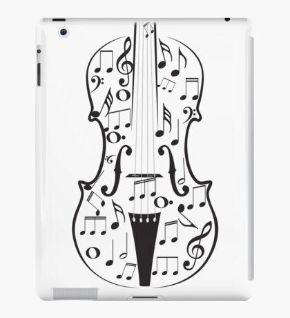 Violine mit Noten iPad-Hülle & Klebefolie