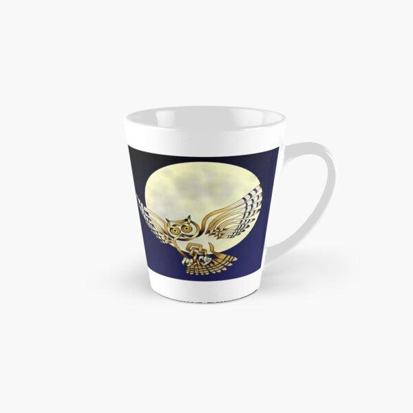 Celtic Knot Owl Moon Tall Mug
