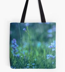 Blue Spring Flowers Tote Bag