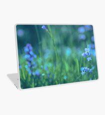 Blue Spring Flowers Laptop Skin