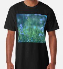 Blue Spring Flowers Long T-Shirt