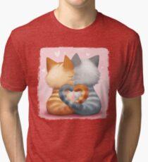 Les amoureux T-shirt chiné