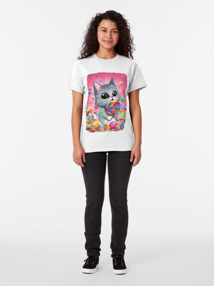 T-shirt classique ''Is this what heaven taste?': autre vue