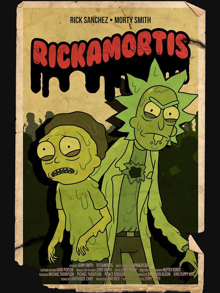 RICKAMORTIS by ToastMonsters