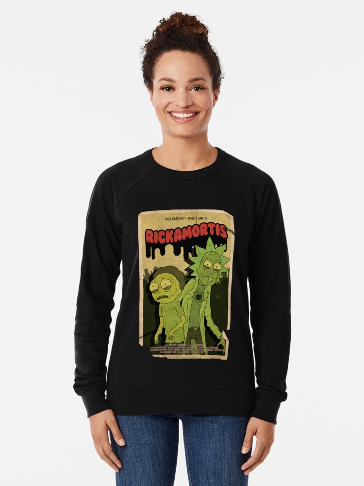 Alternate view of RICKAMORTIS Lightweight Sweatshirt