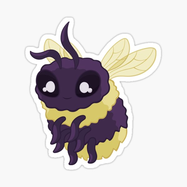 Bumbly Bumble Bee Sticker