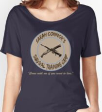 Sarah Connor's Survival Training Camp Women's Relaxed Fit T-Shirt