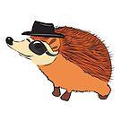 Hedgehog boy, gift on Saint Valentine's Day (14 February)  by PolinaPo
