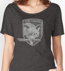 Battle Worn - Fox Hound Special Force Group  Women's Relaxed Fit T-Shirt