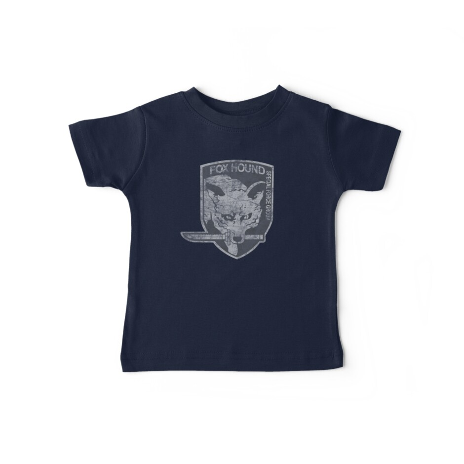 Battle Worn - Fox Hound Special Force Group  by Tee-Nation