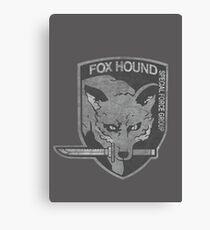 Battle Worn - Fox Hound Special Force Group  Canvas Print