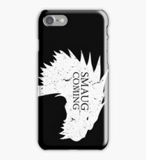 Smaug is coming iPhone Case/Skin