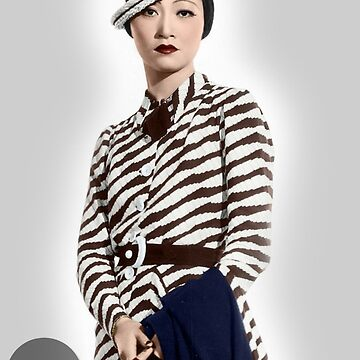 Anna May Wong - Colorized by Laurynsworld