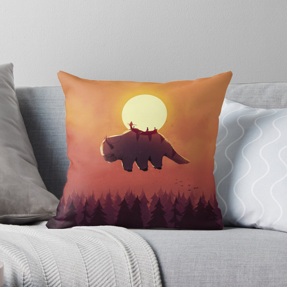 The End of All Things Throw Pillow