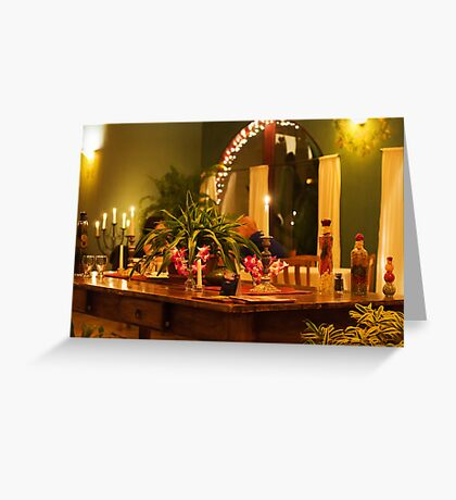 Sofia Nuevo Latino Dining Greeting Card