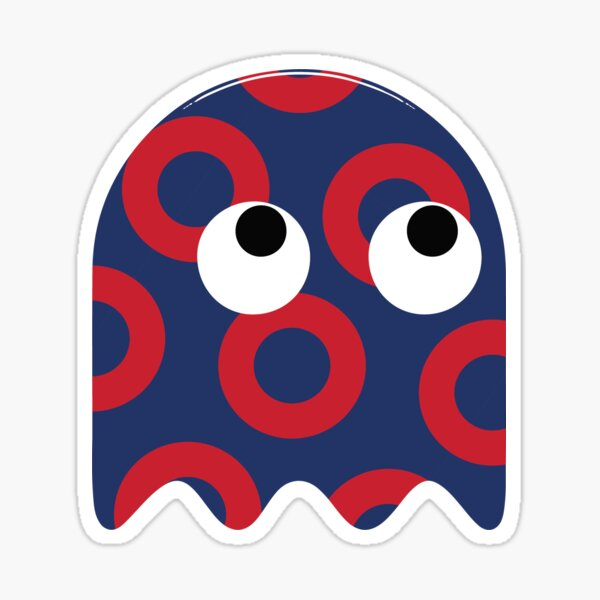Donut Ghost Phish Sticker