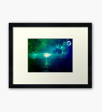 close your eyes and dream  Framed Print