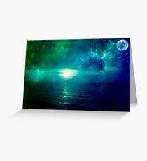 close your eyes and dream  Greeting Card