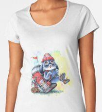 Benny Blue - Backpack Hiking Adventure  Women's Premium T-Shirt