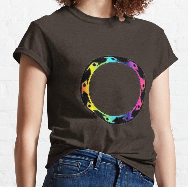 Xena Rainbow Chakram Classic T-Shirt