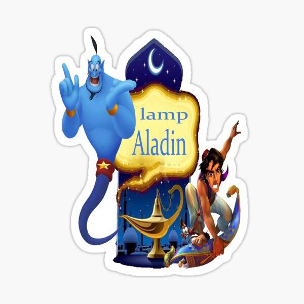 sticker Autocollant enfant Aladin