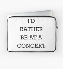 Funda para portátil Estaría bastante en un concierto negro
