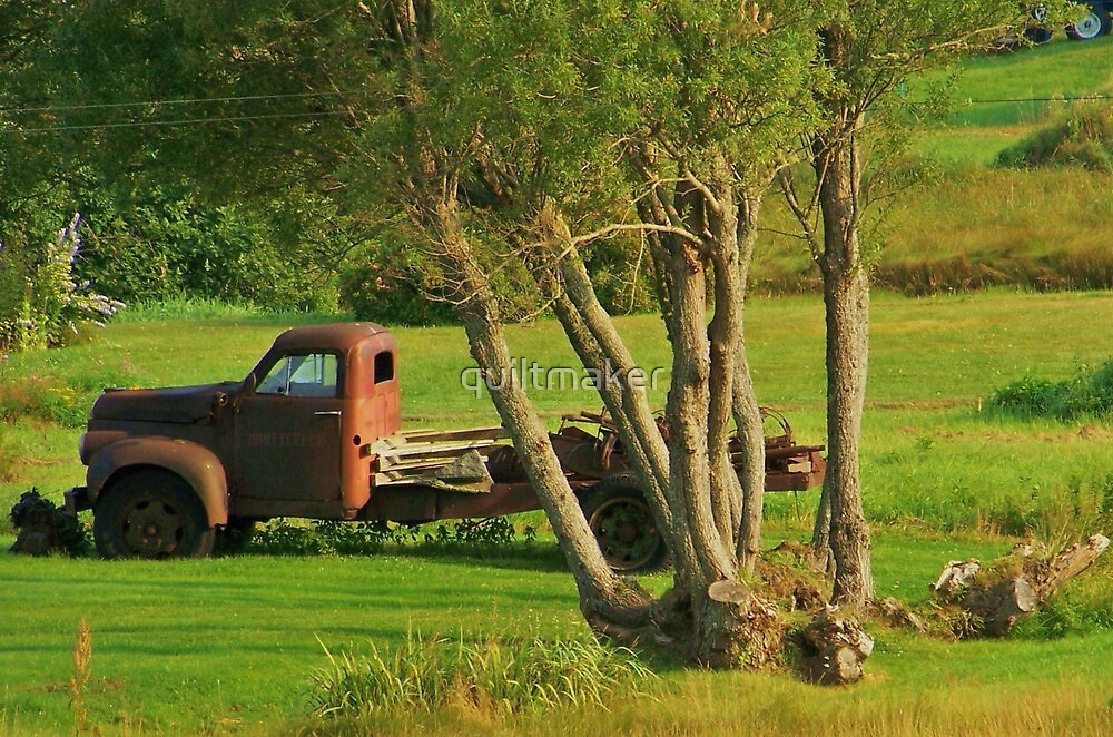 An Old Truck by quiltmaker