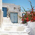 Santorini Spring by Mary Grekos
